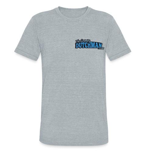Grumpy Text Only Logo - Unisex Tri-Blend T-Shirt