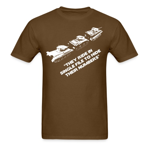 Wisdom of the Lemmings - Men's T-Shirt