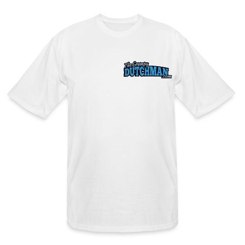 Grumpy Text Only Logo - Men's Tall T-Shirt
