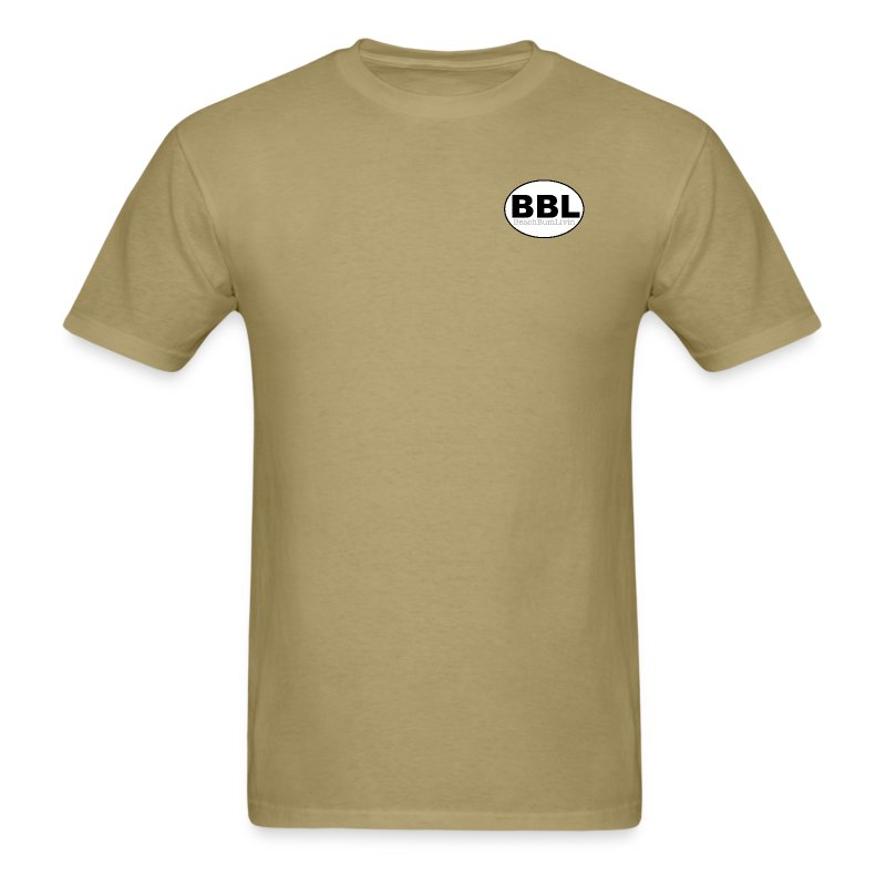 BBL_circle_b-w.png - Men's T-Shirt