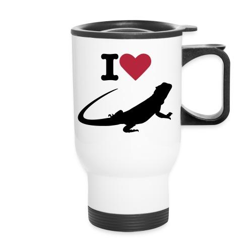Bearded dragon travel mug - Travel Mug
