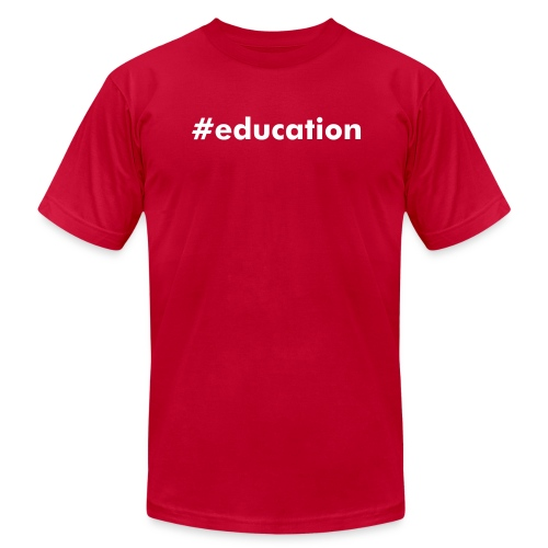 #education - Men's  Jersey T-Shirt