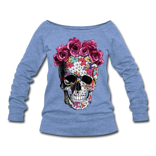 a beautiful death tee - Women's Wideneck Sweatshirt