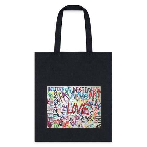 LOVE - Bag - Tote Bag