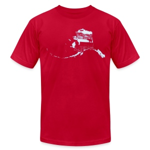 Alaska - Men's T-Shirt by American Apparel