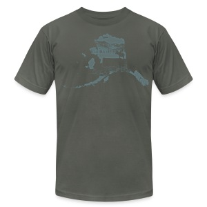 Alaska (Dark) - Men's T-Shirt by American Apparel
