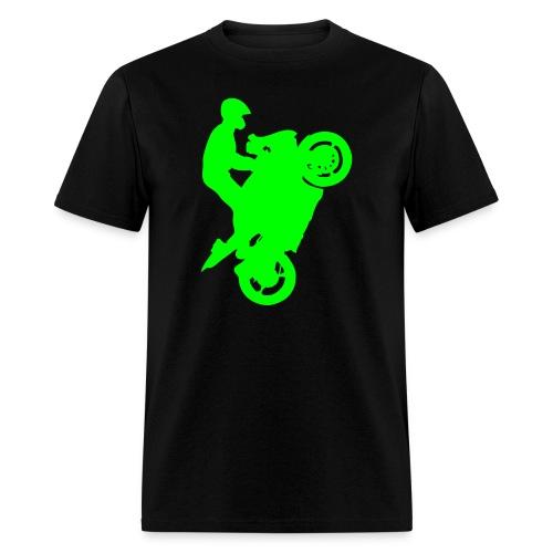 Streetbike Neon Green - Men's T-Shirt