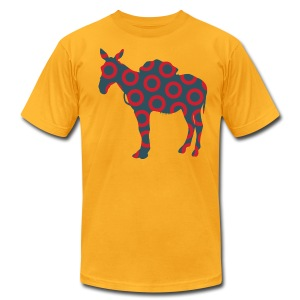 Scent of a Mule ( Fish print ) - Men's T-Shirt by American Apparel