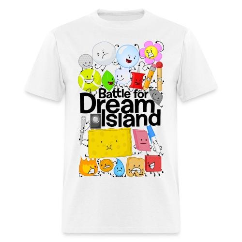 BFDI Gridlock (Light) - Men's T-Shirt