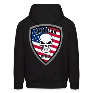 Stars and Stripes 13 - Men's Hoodie