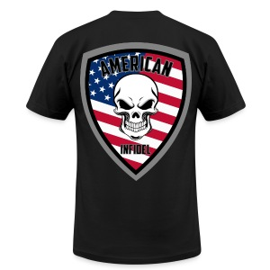 Stars and Stripes 13 - Men's T-Shirt by American Apparel
