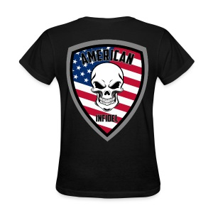 Stars and Stripes 13 - Women's T-Shirt