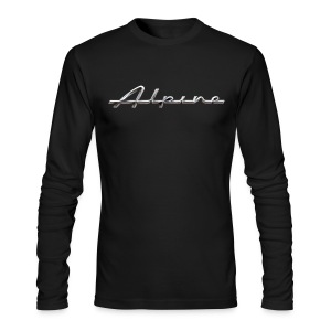Sunbeam Alpine - Men's Long Sleeve T-Shirt by Next Level