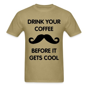 Hipster Coffee - Men's T-Shirt