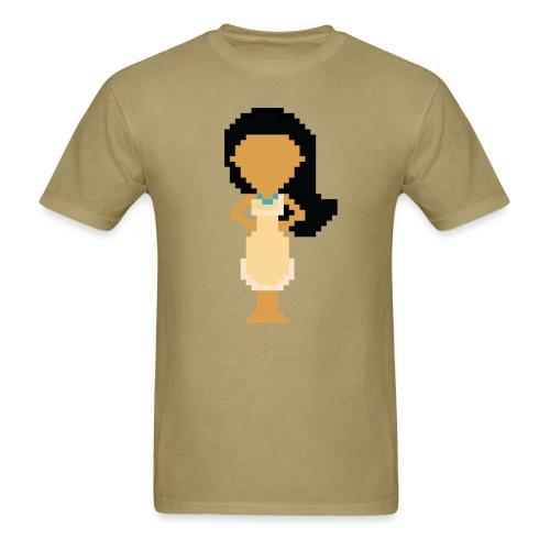 Men's 8-Bit Poca - Men's T-Shirt