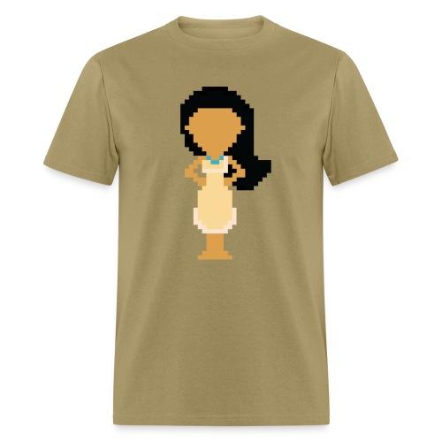 Men's 8-Bit Poca - Men's T-Shirt