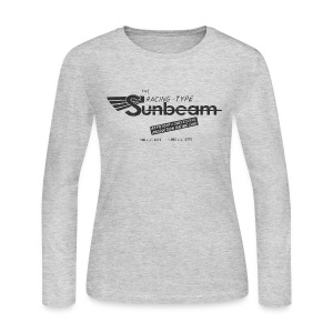 Vintage Racing Sunbeam - Women's Long Sleeve Jersey T-Shirt