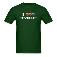 T-Shirts ~ Men's T-Shirt ~ I Heart Hyrule