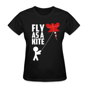 Fly as a kite - Women's T-Shirt