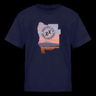 Kids' Shirts ~ Kids' T-Shirt ~ Kid's State of Jefferson (map) T-Shirt
