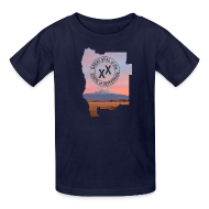 Kids' Shirts ~ Kids' T-Shirt ~ Kid's State of Jefferson (map) T-Shirt