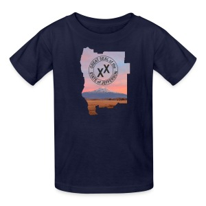 Kid's State of Jefferson (map) T-Shirt - Kids' T-Shirt