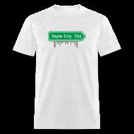 T-Shirts ~ Men's T-Shirt ~ Yoyle City Sign