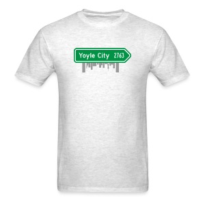 Yoyle City Sign - Men's T-Shirt