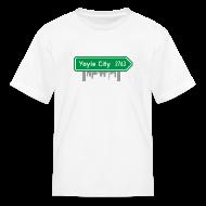 Kids' Shirts ~ Kids' T-Shirt ~ Yoyle City Sign