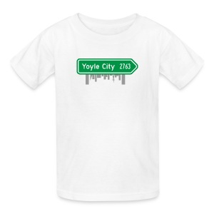 Yoyle City Sign - Kids' T-Shirt
