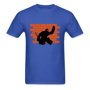 Brick Wall - Men's T-Shirt