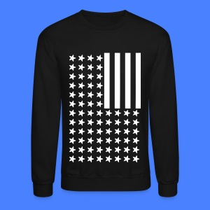 Inverted Flag Long Sleeve Shirts - Crewneck Sweatshirt