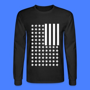 Inverted Flag Long Sleeve Shirts - Men's Long Sleeve T-Shirt