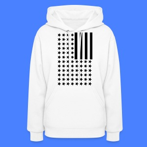 Inverted Flag Hoodies - Women's Hoodie