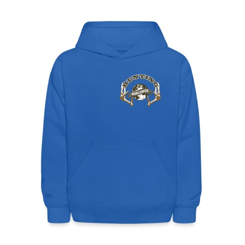 Hunting Worldwide Kid's Sweatshirt - Kids' Hoodie