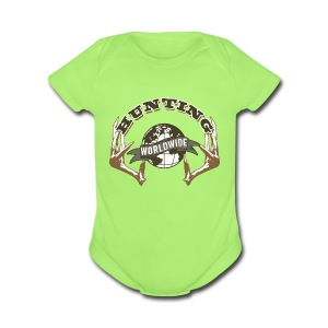 Hunting Worldwide Baby One Piece - Short Sleeve Baby Bodysuit