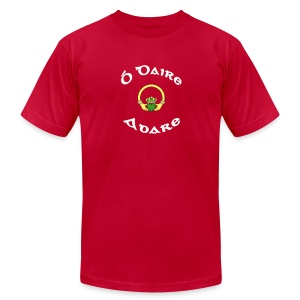 Adare Family Claddagh Tee for Men - Men's T-Shirt by American Apparel