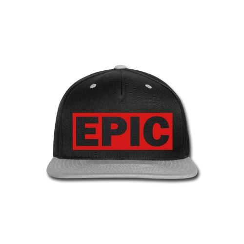 Epic Hat - Snap-back Baseball Cap