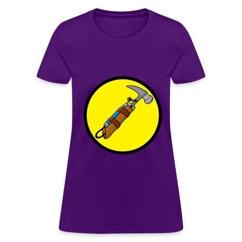 Captain Auto Homer Logo - Women's T-Shirt