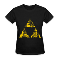 T-Shirts ~ Women's T-Shirt ~ Triforce Gear (Womens)