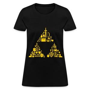 Triforce Gear (Womens) - Women's T-Shirt