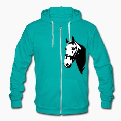 Horse, riding Zip Hoodies & Jackets