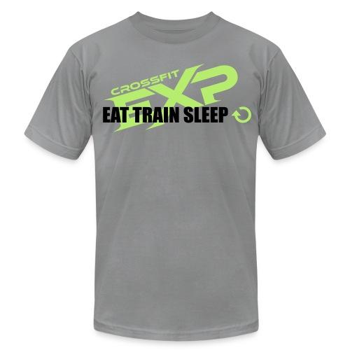 Eat. Sleep. Train- Guys - Men's Fine Jersey T-Shirt