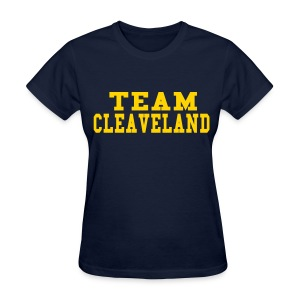 SPECIAL ORDER-TEAM CLEAVELAND - Women's T-Shirt