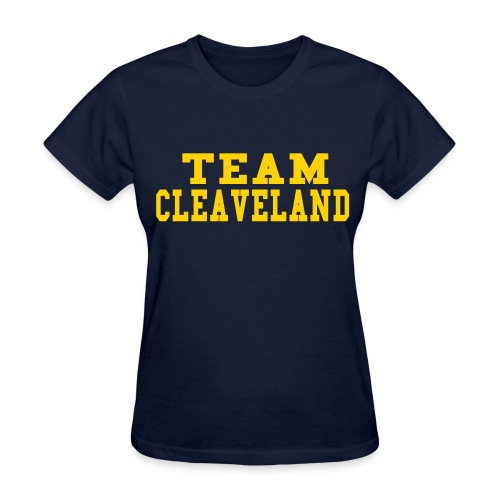 SPECIAL ORDER-TEAM CLEVELAND - Women's T-Shirt