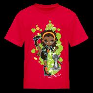 Kids' Shirts ~ Kids' T-Shirt ~ Aisha the African American Chibi Girl