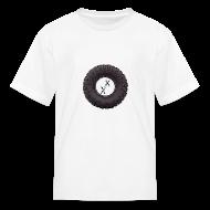 Kids' Shirts ~ Kids' T-Shirt ~ Kid's Big Tire T-Shirt