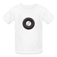 Kids' Shirts ~ Kids' T-Shirt ~ Kid's Big Tire T-Shirt