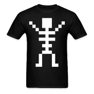 T-Shirts ~ Men's T-Shirt ~ Happy Skeleton - Men Shirt
