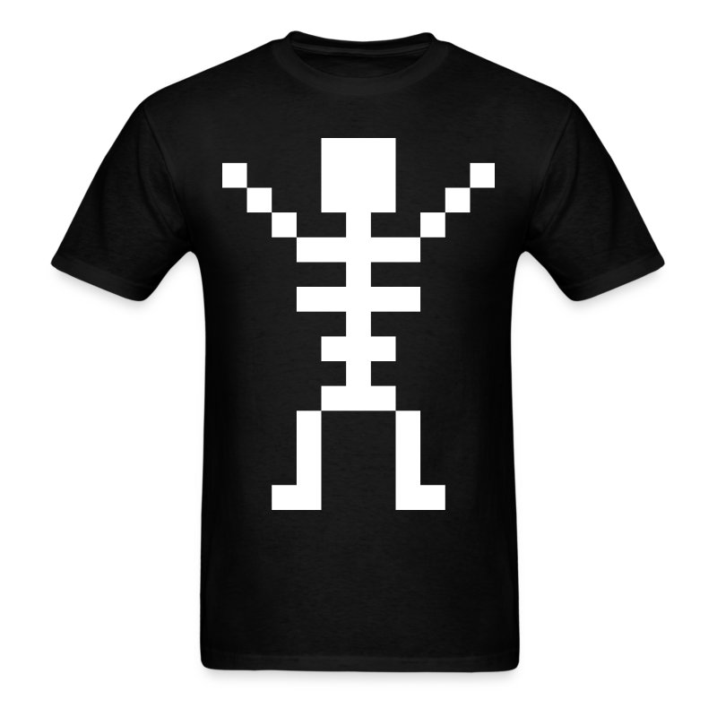 Happy Skeleton - Men Shirt - Men's T-Shirt
